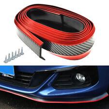 2.5M Universal Carbon Fiber Car Front Bumper Lip Splitter Spoiler Protector (BR)