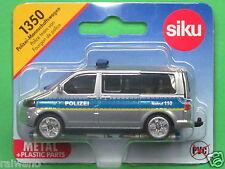 Siku Super Serie 1350 VW T5 facelift Polizei Mannschaftswagen