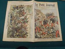 LE PETIT JOURNAL 1906 N° 828 catastrophe du fort de montfaucon, Cuba  S175