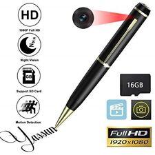 YASSUN Spy Pen Camera,16GB 1080P Full HD Mini Hidden Cam with Video and Photo Re