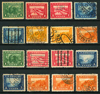 #397-#404 1913-1915 Mint & Used Panama-Pacific Expo Issue Perf 12&10 Mostly Used