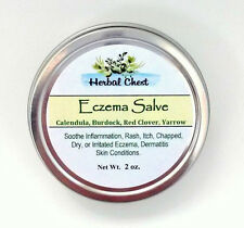 Eczema Salve to Soothe Inflammation, Dry, Itch, Irritated Skin, FREE SHIP
