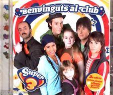 CD-super 3-BENVINGUTS AL Club (cançons program tv3 Catalunya) nou