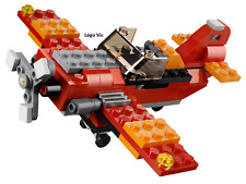 Lego 31003 Creator Red Rotors Hélicoptère Avion 3en1  notice complet 2013 -CN130