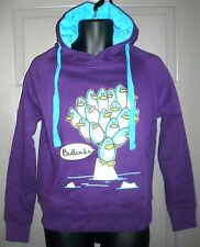 PENGUINS SWEARING KANGAROO POUCH PURPLE HOODIE T63 QUALITY QUIRKY FEMALE
