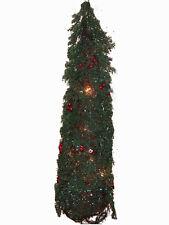 Sapin vert lumineux 62 CM decoration de noel decor de table fete de fin d'année