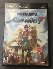 Wild Arms Alter Code F Playstation 2