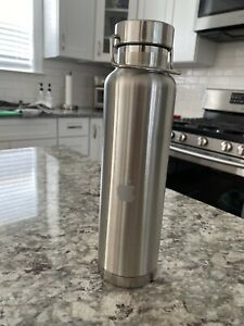 **RARE** Silver Apple Insulated Bottle