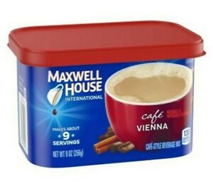 MAXWELL HOUSE INTERNATIONAL VIENNA CAFE STYLE BEVERAGE MIX 9 OZ CANISTER