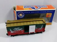 Lionel Christmas Boxcar Happy Holidays 1999 G Gauge 8-87017 with orig box preown