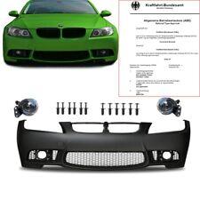 BMW E90 E91 Limo Touring Stoßstange vorne PERFORMANCE +Nebel für M3 M 05-08+ ABE