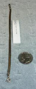 """Italian 7 1/2"""" Chain Bracelet Sterling Silver  714353"""