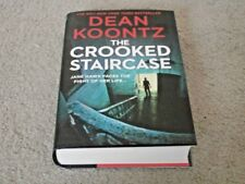 DEAN KOONTZ: THE CROOKED STAIRCASE: VF/VF SIGNED UK 1ST EDITION HARDCOVER 1/1