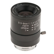 Manual IRIS Zoom 3.5-8mm C Mount Lens for CCTV Camera Industrial Microscope