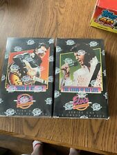 The Elvis Collection Series 1 Trading Cards—2 Sealed Boxes—24 Packs Per Box
