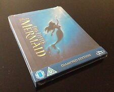 STEELBOOK BLU RAY LA PETITE SIRENE NEUF / THE LITTLE MERMAID NEW LIMITED TO 4000