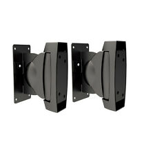 AUDIO123 SB-30 Adjustable Universal Heavy duty Speaker Wall Mount brackets 2Pack