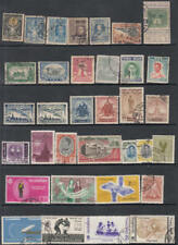 Thailand 1910//1966 hi val selection 34 diff used stamps cv $74.30