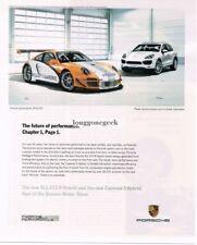 2010 PORSCHE 911 GT3 R Hybrid, Cayenne Advertisement