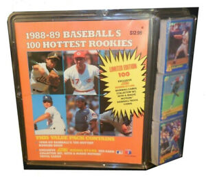 100 Hottest Rookies Collectible 1988-89 SCORE Baseball Cards