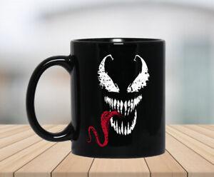 Spiderman Venom Face Tongue Marvel Deadpool Coffee Mug
