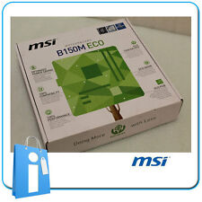 Placa base mATX B150 MSI B150M ECO Socket 1151 con Accesorios