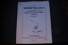 THERMAL DYNAMICS PLASMA CUTTER POWER SUPPLY Service Manual repair operator owner