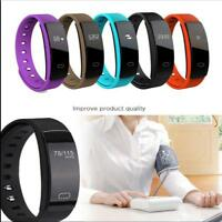 IP67 Fitness Tracker Smart Trackers Wristband Blood Pressure Heart Rate Monitor