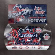 2010 MLB ALL STAR GAME  Angel Stadium  Anaheim  Logo Elastic Bracelets  15 Pack