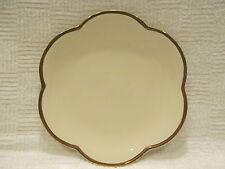 ESTE C. E. Italy Italian Scalloped Plate With Gold Trim