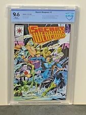 SECRET WEAPONS #2 9.6 NM + 2nd HIGHEST Graded WHITE Pgs 1993 Valiant Comics CBCS