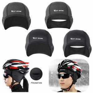 Warme Mütze Helm Unterziehmütze Rennrad MTB Fleece Unisex Fahrrad Ski Winter