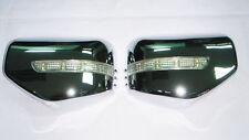 LED Chrome Mirror Cover Turn Signal System Mitsubishi Triton L200 MN ML 2006-13