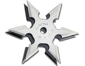 Ninja Training Throwing Star Practice Dense Foam -  w/pouch New!! 6 Point!!!!