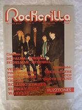 ROCKERILLA N.57/1985 THE FUZZTONES DEATH IN JUNE THE BLASTERS ROLLING STONES