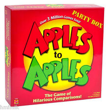 NEW & SEALED APPLES TO APPLES PARTY BOX FAMILY FUN GAME NIGHT CRAZY COMBINATIONS