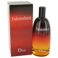 FAHRENHEIT by Christian Dior Eau De Toilette Spray 6.8 oz for Men NIB