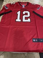Tom Brady #12 Tampa Bay Buccaneers Men's Red Jersey Sizes  LARGE