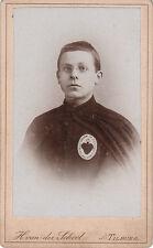 Photo carte de visite : Ivan Der Schoot ; Missionnaire du Sacré Coeur de Jésus