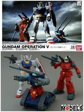 Gundam HG 1/144 RX-78 - GUNTANK - GUNCANNON GUNDAM OPERATION V Bandai Model Kit