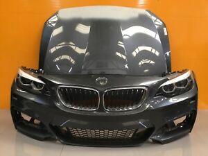 BMW  2 series  f22 m sport  genuine FRONT BUMPER ,bonnet ,headlights