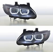 2 FEUX PHARE AVANT ANGEL EYES LED BI XENON D1S BMW SERIE 3 E92 E93 COUPE PHASE 1