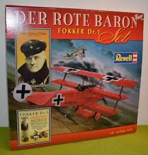 Model Kit REVELL 1/28 Scale 05779 Der Rote Baron Fokker DR.1 WW I