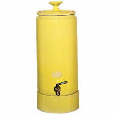 NEW Ceramic Ultra Slim Water Filter Purifier - Lemon holds 10 litres of water