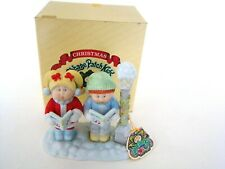 1984 Cabbage Patch Kids Fine Porcelain Christmas Noel Noel with Box #5401