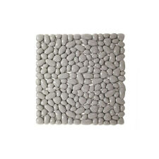 Tappetino antiscivolo Gedy Pietra per doccia in vinile colore grigio 55x55 cm