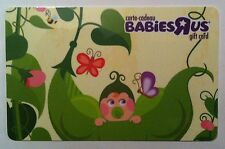 BABIESRUS MINT COLLECTIBLE GIFT CARD 2016 CANADA NO VALUE BILINGUAL RELOADABLE