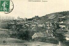Carte PONT SAINTE MAXENCE Panorama Adressé à Mme Portron Epicerie à Angy