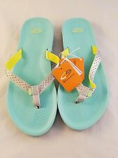 Women C9 champion sport sandals flip flops size 8 blue lilah