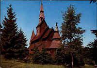 Kirchen Motiv-AK Nordische Stabskirche Goslar Hahnenklee Gustav-Adolf-Kirche